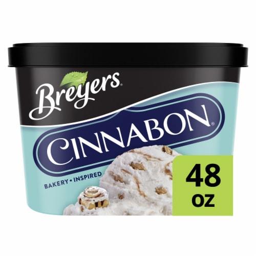 Breyers Cinnabon Layered Frozen Dairy Dessert Perspective: front
