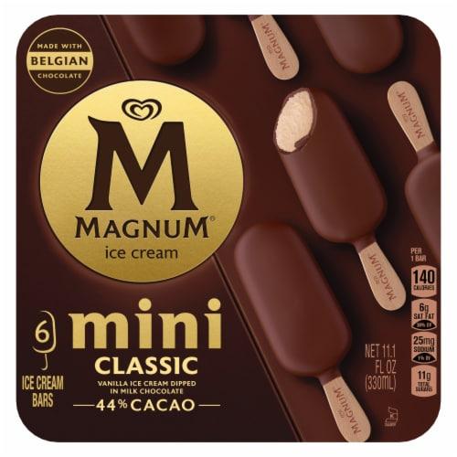 Magnum Mini Classic Ice Cream Bars Perspective: front