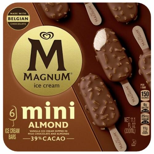 Magnum Mini Almond Ice Cream Bars Perspective: front