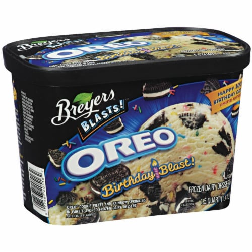 Breyers Blasts Birthday Blast Oreo Ice Cream