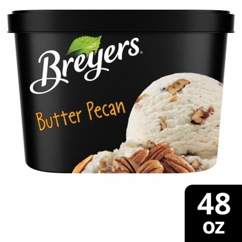 Breyers Butter Pecan Ice Cream Perspective: front