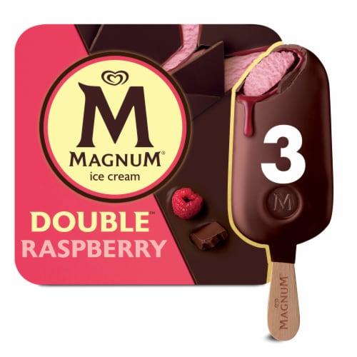 Magnum® Double Raspberry Ice Cream Bars Perspective: front