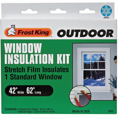 Frost King® Outdoor Window Insulation Kit Perspective: front