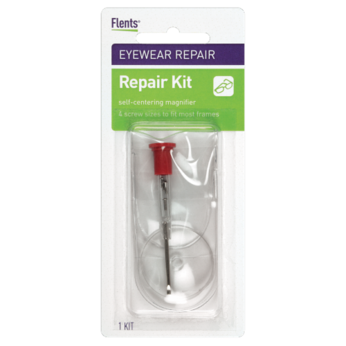 Flents Eyewear Repair Kit Perspective: front