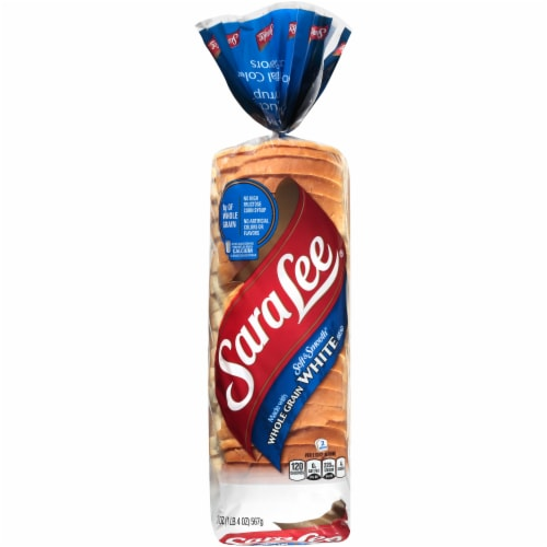 Sara Lee Soft & Smooth Whole Grain White Bread Perspective: front