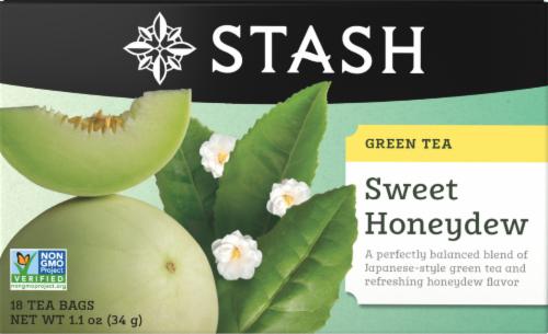 Stash Sweet Honeydew Green Tea Bags Perspective: front