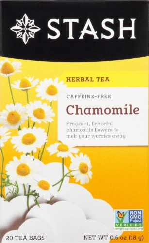 Stash Caffeine Free Chamomile Herbal Tea Perspective: front