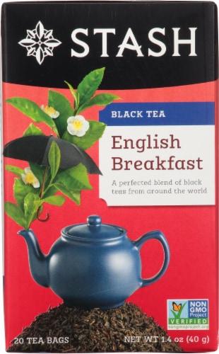 Stash English Breakfast Black Tea Perspective: front