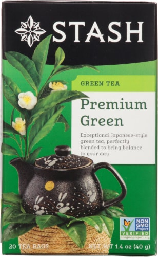 Stash Premium Green Tea Perspective: front