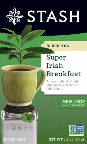 Stash Super Irish Breakfast Black Tea Perspective: front