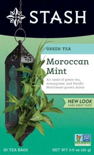 Stash Moroccan Mint Green Tea Perspective: front