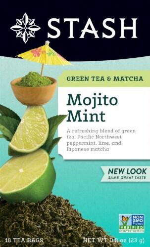 Stash Mojito Mint Green Tea Perspective: front