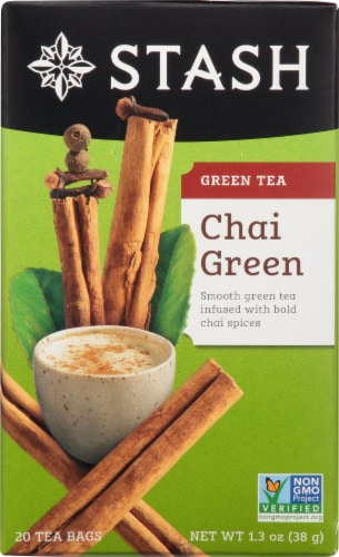 Stash Chai Green Tea Perspective: front