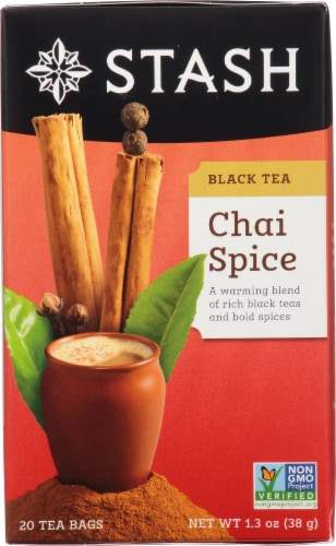 Stash Chai Spice Black Tea Perspective: front
