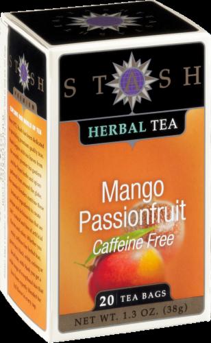 Stash Mango Passionfruit Herbal Tea Perspective: front