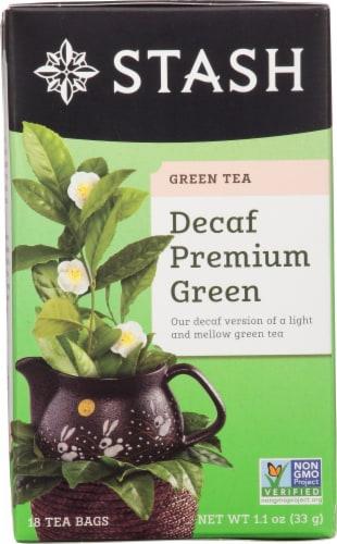 Stash Decaf Premium Green Tea Perspective: front