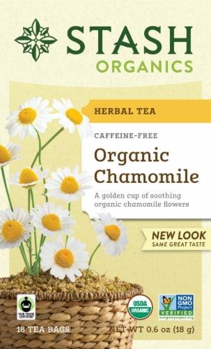 Stash Organic Chamomile Herbal Tea Perspective: front