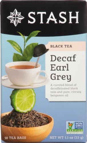 Stash Decaf Earl Grey Black Tea Perspective: front
