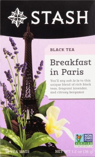 Stash Breakfast in Paris Black Tea Perspective: front