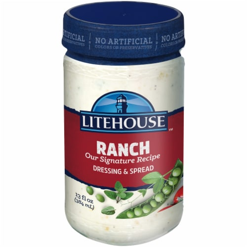 Litehouse™ Signature Recipe Ranch Dressing & Dip Perspective: front