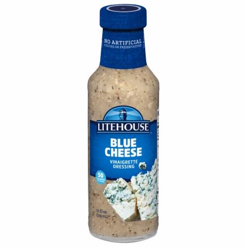 Litehouse Blue Cheese Vinaigrette Dressing Perspective: front