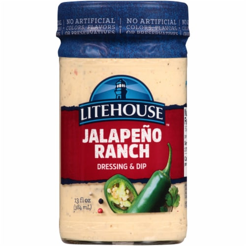Litehouse Jalapeno Ranch Dressing & Dip Perspective: front