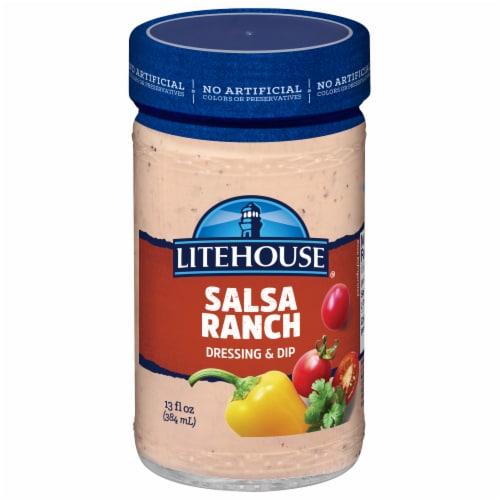 Litehouse Lite Salsa Ranch Dressing & Dip Perspective: front