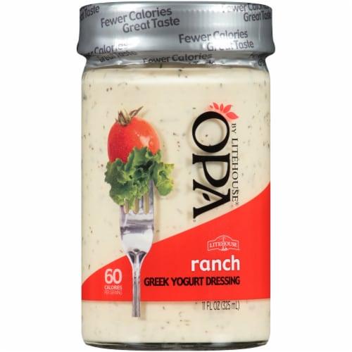 Opa by Litehouse Ranch Greek Yogurt Dressing Perspective: front