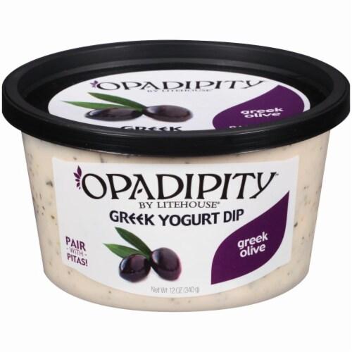 Opadipity by Litehouse Greek Olive Greek Yogurt Dip Perspective: front