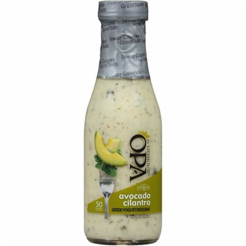 Opa by Litehouse Avocado Cilantro Greek Yogurt Dressing Perspective: front