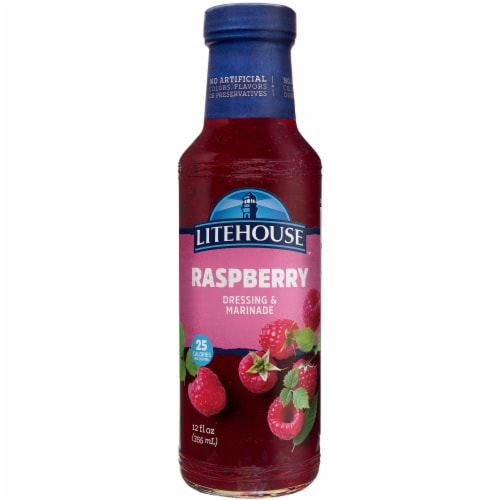Litehouse Raspberry Dressing & Marinade Perspective: front