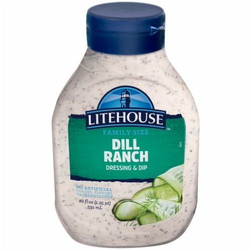 Litehouse Dill Ranch Dressing & Dip Perspective: front