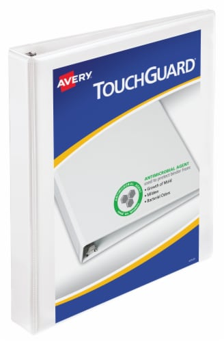 Avery TouchGuard 3 Ring Binder Perspective: front