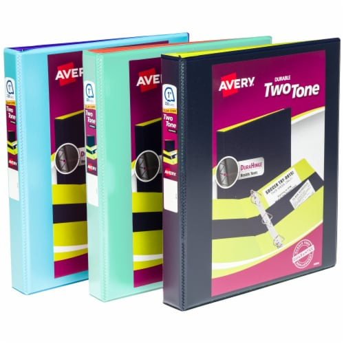 Avery Durable Two-Tone Binder - Assorted Perspective: front
