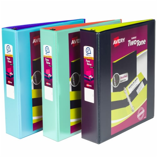 Avery Durable Two Tone Binder - Assorted Perspective: front