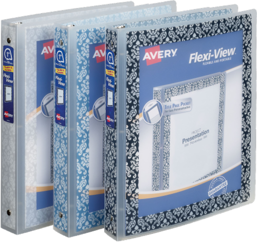 Avery Flexi-View Fashion Binder - Assorted Perspective: front