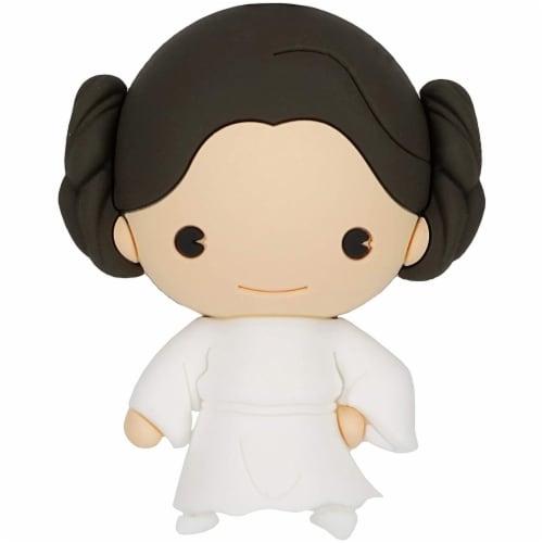 Star Wars Princess Leia 3D Foam Magnet Perspective: front