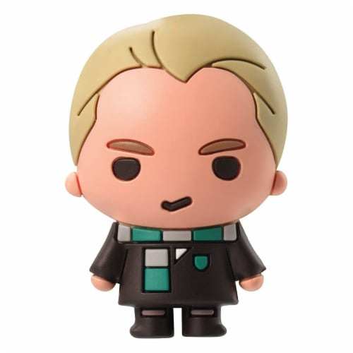 Harry Potter Draco With Scarf 3D Foam Magnet Perspective: front