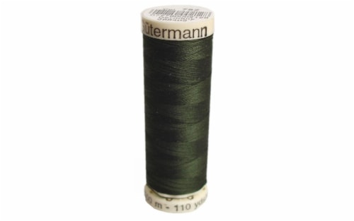 Gutermann Sew-All 100M Black Olive Perspective: front