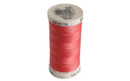 Gutermann Sew-All Thread 250M Hot Pink Perspective: front