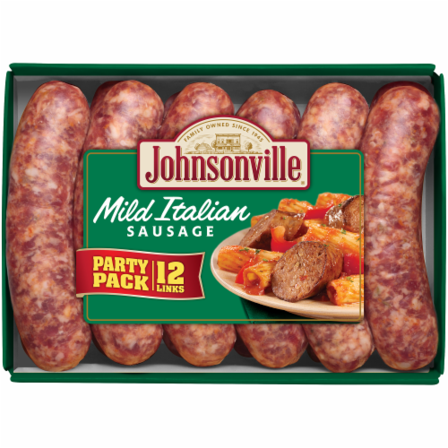 Johnsonville Mild Italian Sausages Party Pack Perspective: front