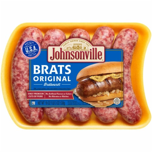Johnsonville Original Bratwursts Perspective: front