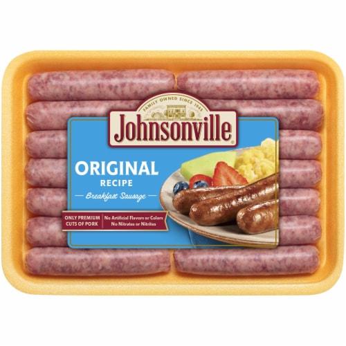 Johnsonville Original Breakfast Sausage Links Perspective: front