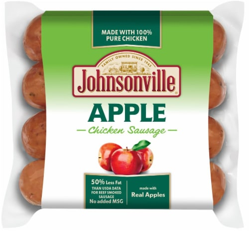 Johnsonville Apple Chicken Sausages Perspective: front