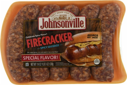Johnsonville Firecracker Spicy Sausage Perspective: front