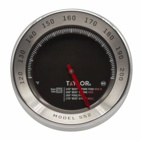 Taylor Instant Read Analog Meat Thermometer - Case Of: 1; Perspective: front