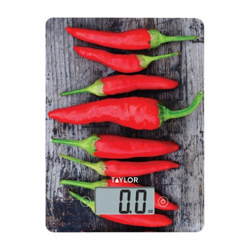 Taylor 6738645 11 lbs Digital Kitchen Scale, Multicolor Perspective: front