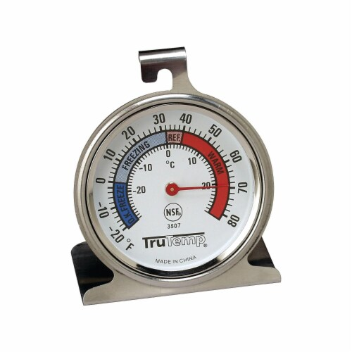 Freezer-Refrigerator Thermometer Perspective: front