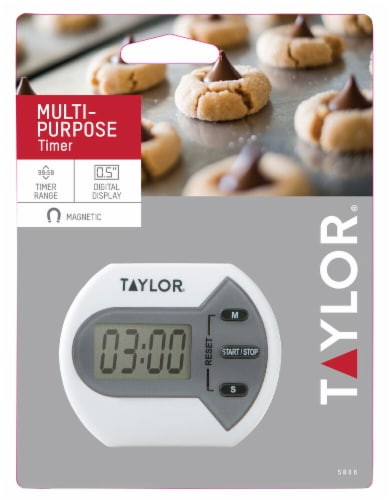 Taylor Multi-Purpose Digital Magnetic Timer Perspective: front