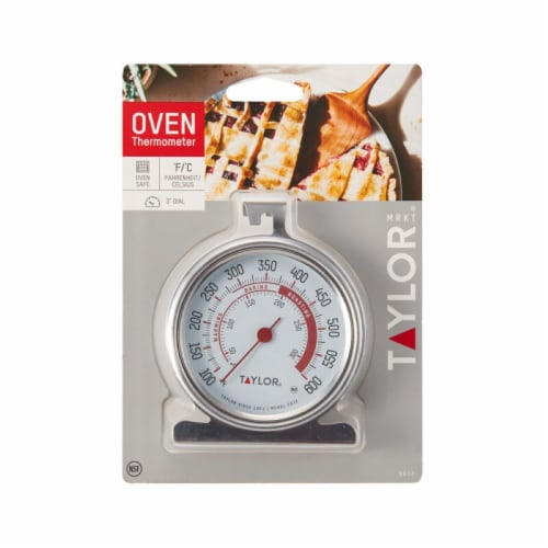 Taylor Dial Oven Thermometer Perspective: front